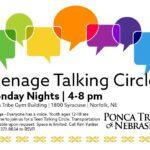 Teenage Talking Circle