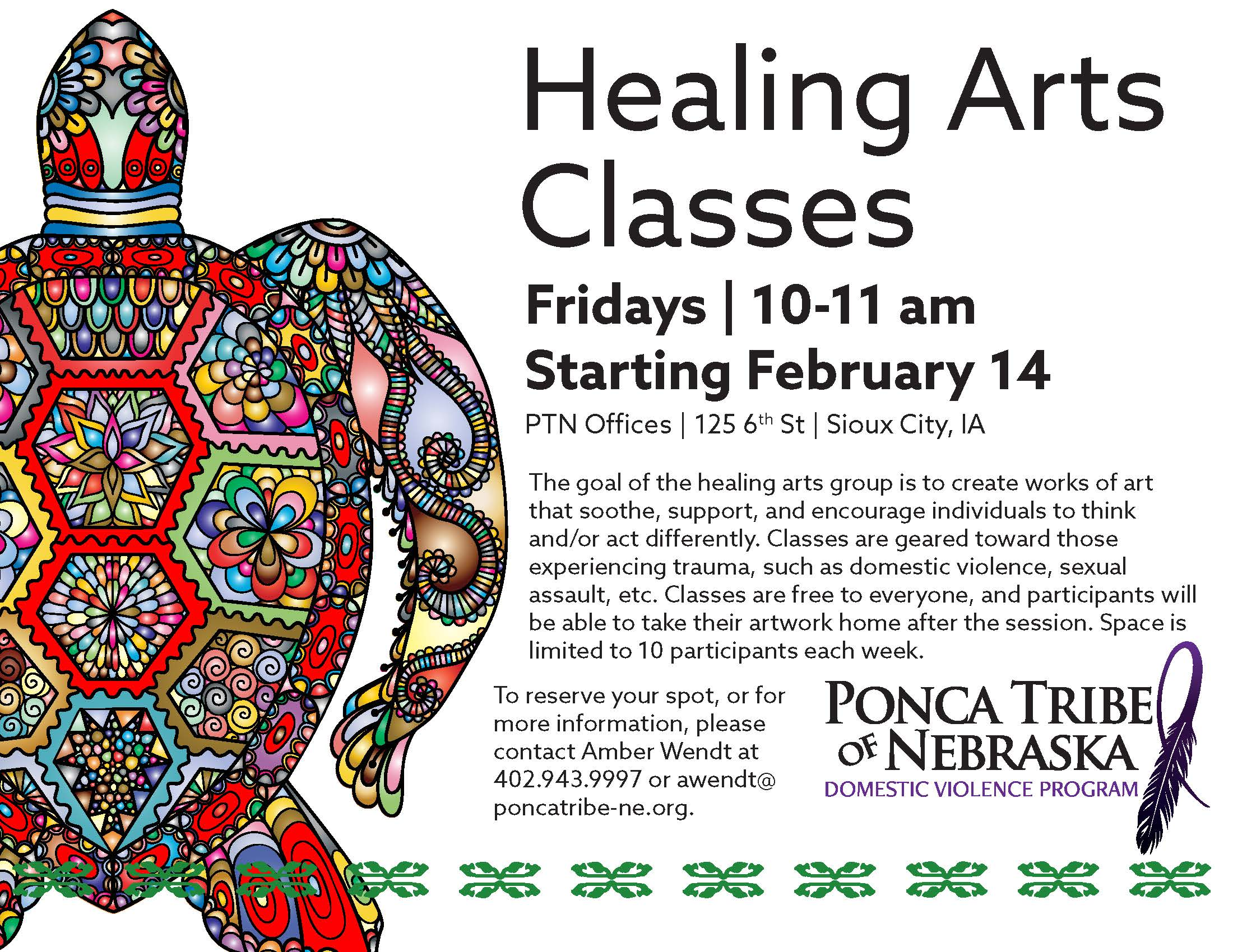 Healing Arts Classes - Sioux City