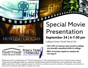 Special Movie Presentation – The Hunting Ground