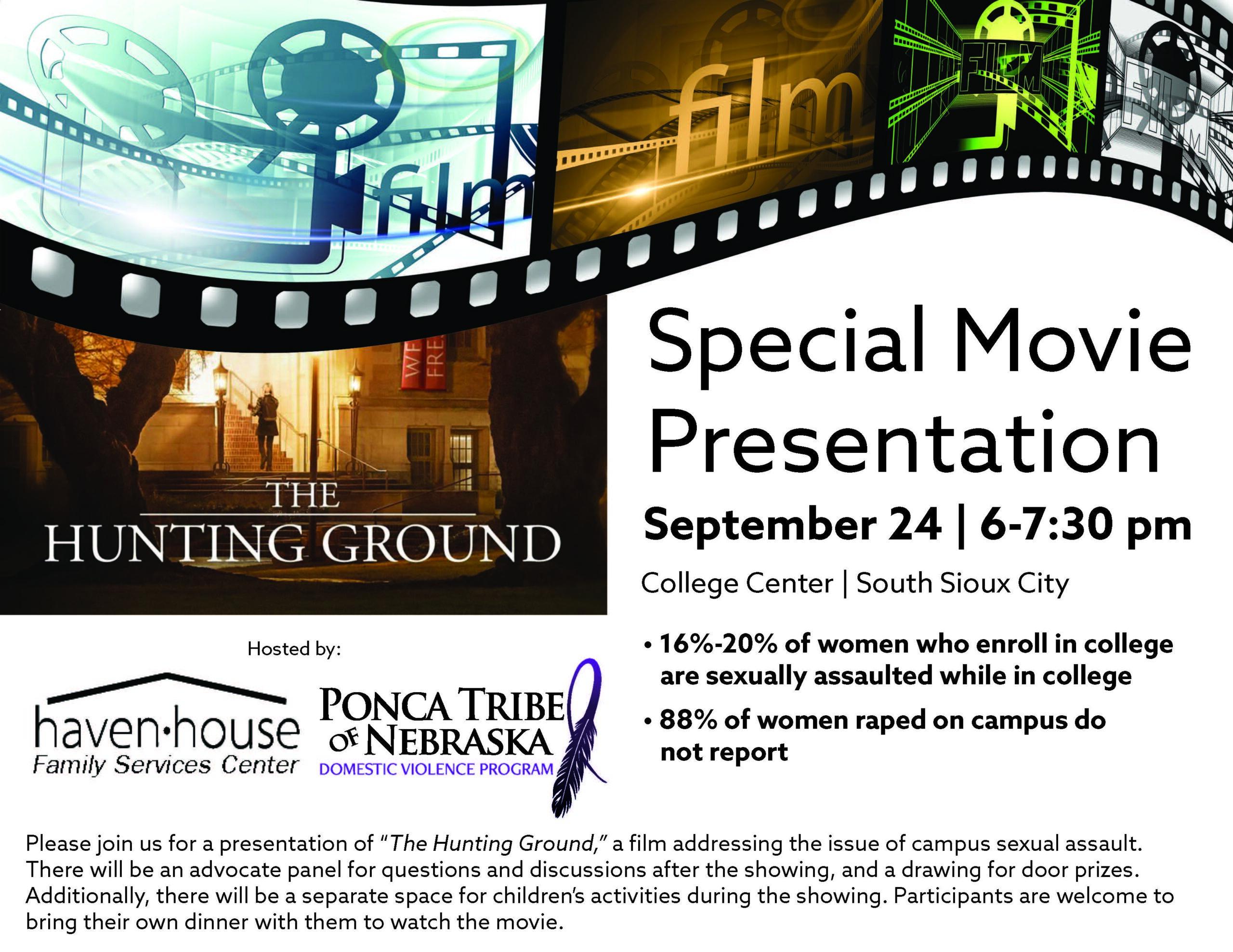 Hunting Ground Movie Presentation
