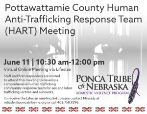 Pottawattamie County Human Anti-Trafficking Response Team (HART) Meeting