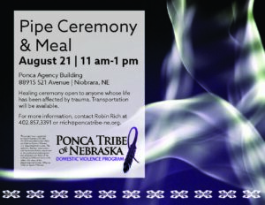 Pipe Ceremony & Meal – Niobrara