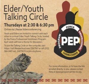 Elder/Youth Virtual Talking Circle