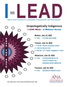 I-LEAD Youth Webinar Series