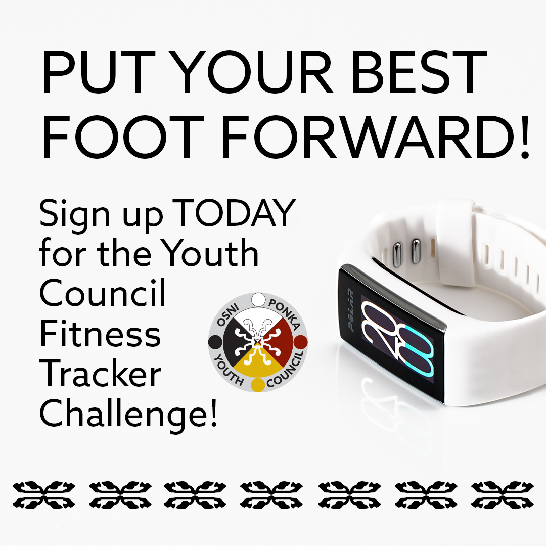 Ponca Youth Council Fitness Tracker Challenge