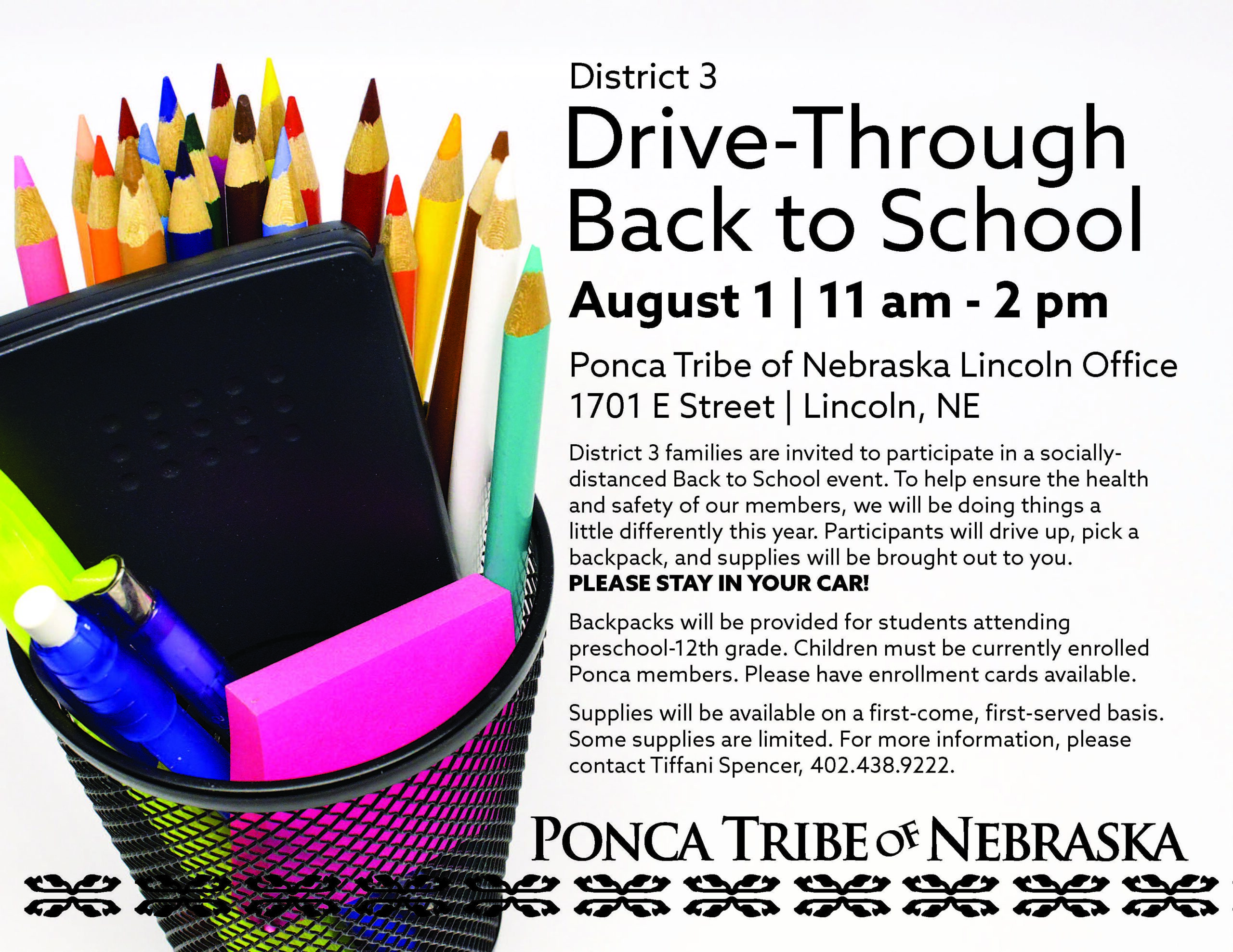 District 3 Back to School Event