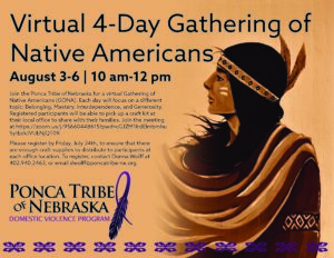 Virtual 4-Day Gathering of Native Americans