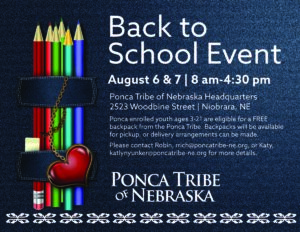 Niobrara Back to School Event