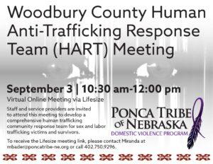 Woodbury County Human Anti-Trafficking Response Team (HART) Meeting
