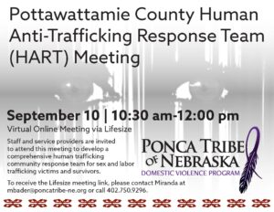 Pottawattamie County Human Anti-Trafficking Response Team (HART) Meeting