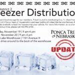 District 2 Freezer Distribution Update